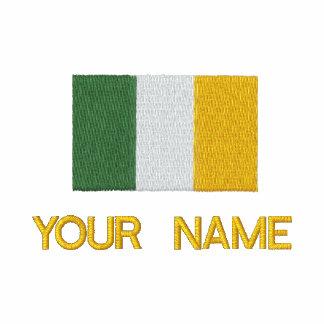 Camisola irlandesa bordada personalizada da bandei