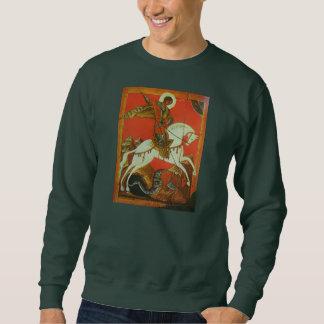 Camisola medieval de St George e de dragão Moletom