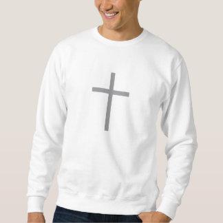 Camisola transversal cristã moletom