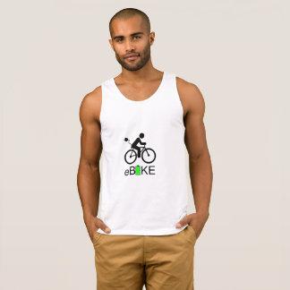 """Camisolas de alças de """"Ebike"""" para homens"""