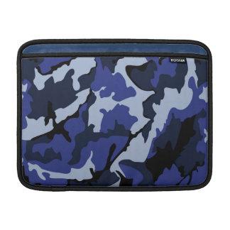 """Camo azul, 13"""" luva horizontal para o ar de bolsa de MacBook"""