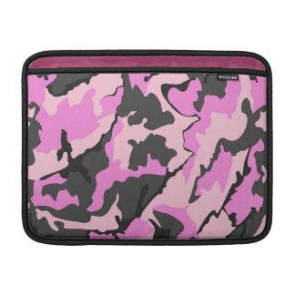 """Camo cor-de-rosa, 13"""" luva horizontal para o ar de bolsas de MacBook"""