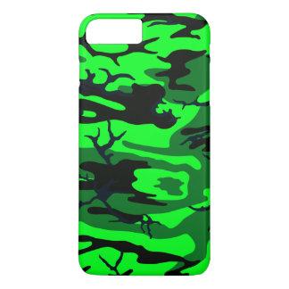 Camo verde estrangeiro capa iPhone 7 plus