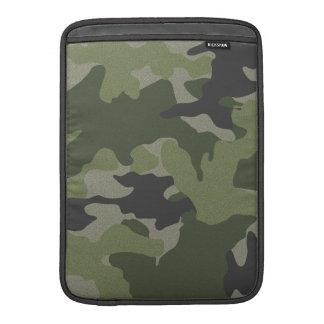 Camo verde vertical da luva de ar de um Macbook de Bolsas Para MacBook Air
