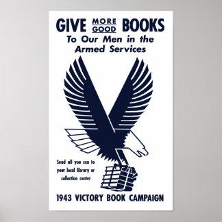 Campanha 1943 do livro da vitória -- WWII Poster