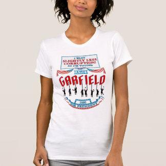 Campanha de James Garfield 1880 a camisa leve das T-shirt
