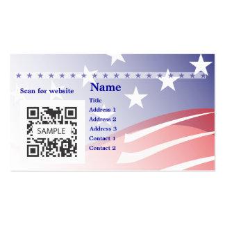 Campanha do modelo de cartão de negócios cartão de visita