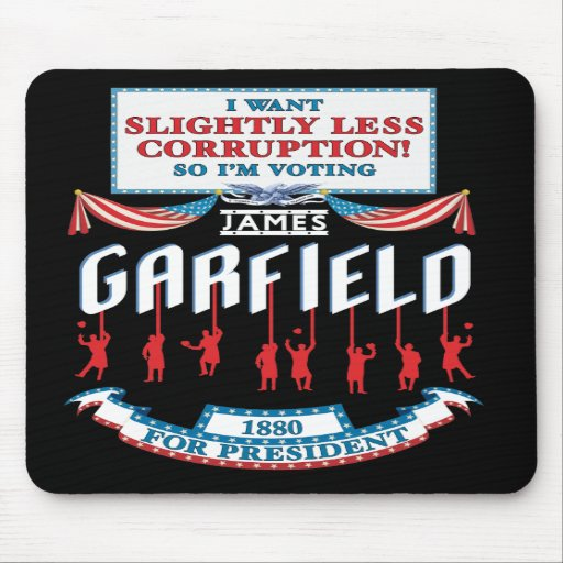 Campanha Mousepad de James Garfield 1880