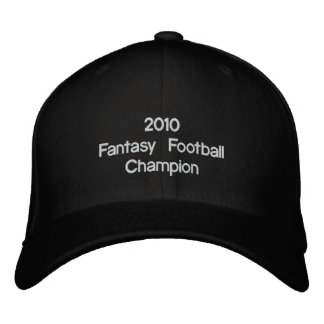 Campeão 2010 do futebol   da fantasia boné bordado