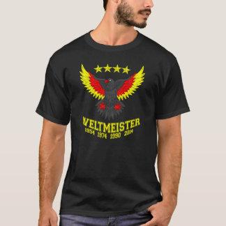 Campeão 2014 do mundo de Alemanha Camiseta