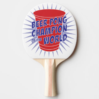 Campeão de Pong da cerveja da pá do pong do sibilo Raquete De Ping-pong