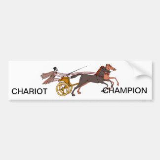 Campeão do Chariot Adesivo Para Carro