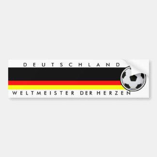 Campeão do mundo 2010 futebol Alemanha WM2010 Adesivo Para Carro