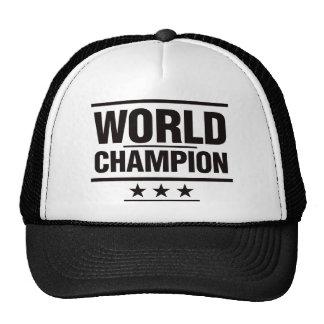 Campeão do mundo boné