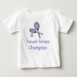 Campeão futuro do tênis camiseta