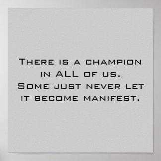 Campeão Poster