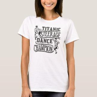 Campeão titânico engraçado da dança de Steerage Camiseta