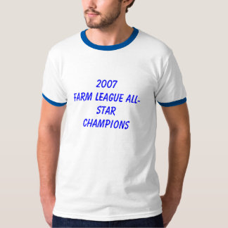 CAMPEÕES ALL-STAR da LIGA 2007FARM Camiseta