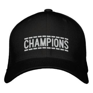 Campeões customizáveis boné bordado