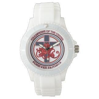 Campeões da cruz do relógio fiel para sempre