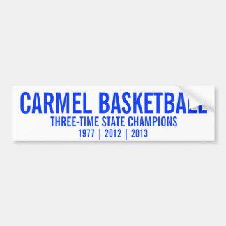Campeões de estado do basquetebol de Carmel Adesivo Para Carro