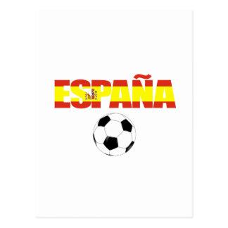 Campeonato do mundo 2010 de Espana Cartoes Postais