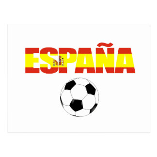 Campeonato do mundo 2010 de Espana Cartao Postal