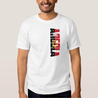 Campeonato do mundo 2014 de Angola da equipe Tshirt