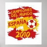 Campeones del Mundo 2010 Poster