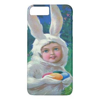 Campo bonito do traje do coelhinho da Páscoa da Capa iPhone 7 Plus