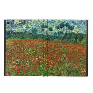 Campo com as papoilas por belas artes de Van Gogh
