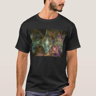 campo de estrela do fractal camiseta