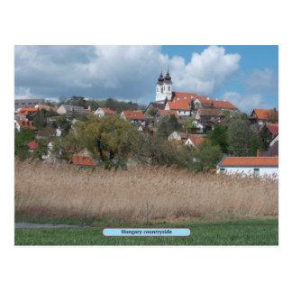 Campo de Hungria Cartão Postal