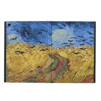 Campo de trigo com os corvos por Van Gogh