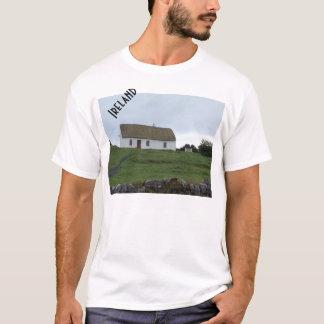 Campo irlandês na camisa de Ireland