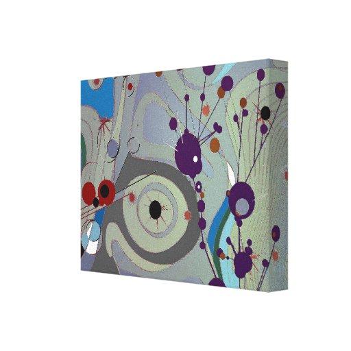 Campos - canvas abstratas impressão em tela