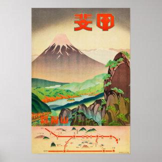 Campos da cor, prefeitura de Yamanashi Poster