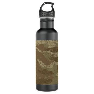 Camuflagem da lama garrafa