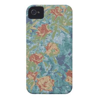 Camuflagem e flores capa para iPhone 4 Case-Mate