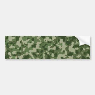 Camuflagem militar do verde da selva adesivo para carro