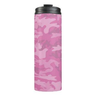 Camuflagem/Tumbler cor-de-rosa Thermal de Camo