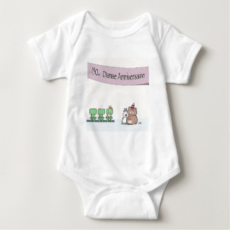 Canada150 Danse Anniversaire T-shirt-2 Body Para Bebê