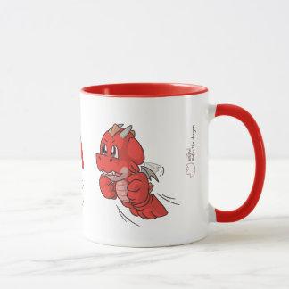 Canadá 150 - Caneca vermelha dos desenhos animados