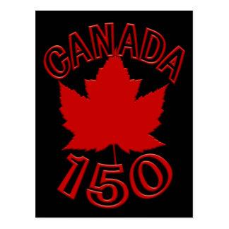 Canadá 150 cartão canadenses da lembrança dos