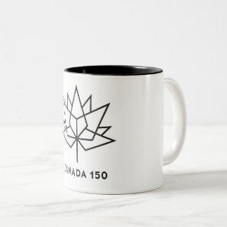 Canadá 150th caneca de café de dois tons
