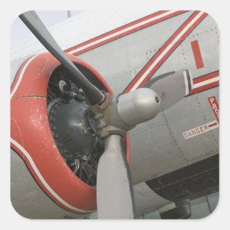 Canadá, Alberta, Edmonton: Aviação de Alberta Adesivo Quadrado