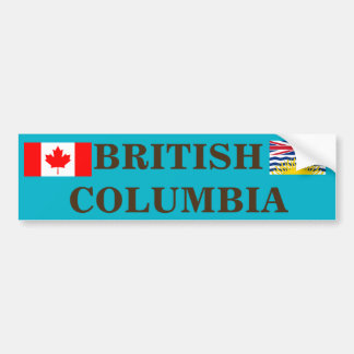 Canadá - autocolante no vidro traseiro do Columbia Adesivo Para Carro