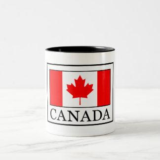 Canadá Caneca De Café Em Dois Tons
