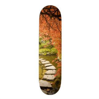 CANADÁ, Columbia Britânica, Victoria. Outono Shape De Skate 18,1cm