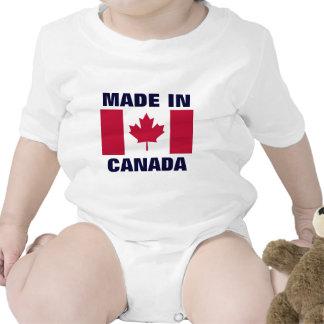 CANADÁ: Feito em Canadá Macacãozinho Para Bebês